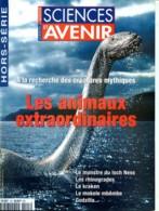 Sciences Et Avenir N° 123 Hors Série 2000 Animaux Extraordinaires Rhinogrades Kraken , Mokele Mbembe , Godzilla - Science