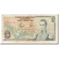 Billet, Colombie, 5 Pesos Oro, 1978, 1978-10-01, KM:406f, TB - Colombie