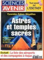 Sciences Et Avenir N° 617 Juillet  1998 Astres Et Temples Sacrés , Esctasy , Aéroports à Risque - Science