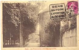 DAGUIN SENS YONNE 24-4-3 ? SENS / SA FOIRE / EXPOSITION / DU 30 AVRIL - Storia Postale