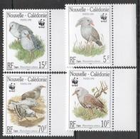 E056 1998 CAGOU NOUVELLE-CALEDONIE NEW CALEDONIA WWF FAUNA BIRDS 1SET MNH - W.W.F.