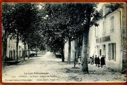 46  CPA  PAYRAC  La Poste  Avenue De Souillac  Joli Plan Animé    Bon état - France
