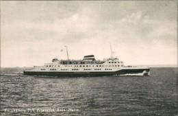 Kalundborg Fährschiff Ferry Fähre M/F Prinsesse Anne Marie, Schiffsfoto-AK 1950 - Dänemark