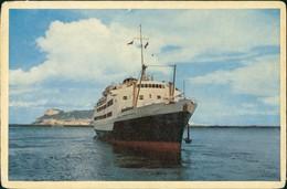 Ansichtskarte  ALGECIRAS Ferry Boat Fähre Fährschiff Schiffsfoto-AK 1960 - Schiffe