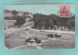 Small Old Post Card Of Place Neuve,Geneve,Geneva, Switzerland,S91. - GE Geneva