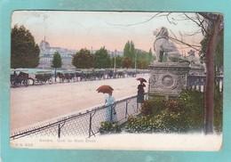Small Old Post Card Of Quai Du Mont Blanc,Geneve,Geneva, Switzerland,S91. - GE Geneva