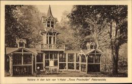 Cp Paterswolde Drenthe Niederlande Voliere In Den Tuin Van 't Hotel Twee Provincien - Pays-Bas