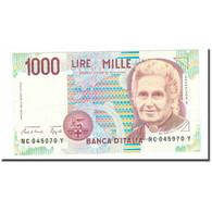 Billet, Italie, 1000 Lire, 1990-1994, KM:114a, SUP - [ 2] 1946-… : Républic