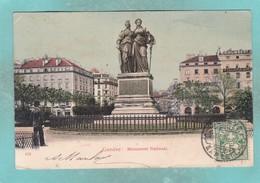 Small Old Post Card Of Monument National,Geneve,Geneva, Switzerland,S91. - GE Geneva