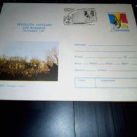 REVOLUTJIA POPULARA DIN ROMANIA DECEMBRIE 1989 BUCURETI REVOLUTIA A INVINS NON CIRCULEE - Cartas