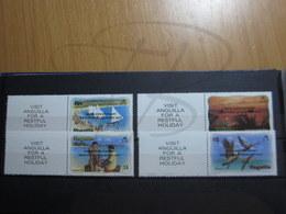 VEND BEAUX TIMBRES D ' ANGUILLA N° 502 - 505 , XX !!! - Anguilla (1968-...)