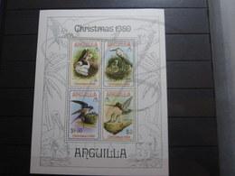 VEND BEAU BLOC D ' ANGUILLA N° 34 , XX !!! - Anguilla (1968-...)