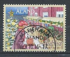 Aland 2014 N° 399 Oblitéré Noël - Aland