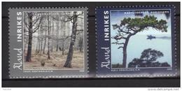 Aland 2008 N°292/293 Neufs Paysages - Aland