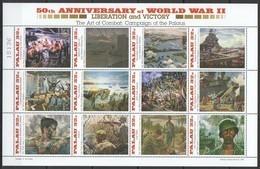 PK231 PALAU WWII 50TH ANNIVERSARY WORLD WAR II LIBERATION AND VICTORY 1KB MNH - WW2 (II Guerra Mundial)