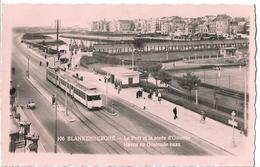 BELGIQUE - BLANKENBERGHE - Le Port Et La Route D'Ostende - Blankenberge