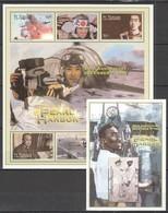 PK236 ST.VINCENT & THE GRENADINES WORLD WAR 2 PEARL HARBOR 1KB+1BL MNH - Guerre Mondiale (Seconde)