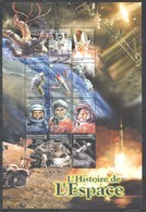 PK244 DE GUINEE SPACE HISTORY OF SPACE 1SH MNH - Espacio