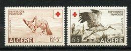 Algérie, Yvert 343&344**, Scott B88&89**, MNH - Algerien (1924-1962)