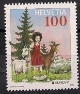 2010 Schweiz Mi. 2157 **MNH    Europa: Kinderbücher. - Schweiz