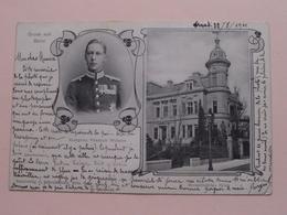 Gruss Aus BONN > Kronprinz FRIEDRICH WILHELM ( Schwellenbach ) Anno 1901 > Kessenich > Nancy / Docelles ! - Souvenir De...