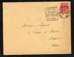MAURY N° 271: S/LSI  - 1931  - OM DAGUIN- (DEPT De La MEUSE): VISITEZ ST MIHIEL SES ROCHES LA MEUSE - Marcophilie (Lettres)
