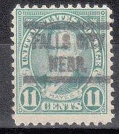 USA Precancel Vorausentwertung Preo, Locals Nebraska, Falls City 563-513 - Vereinigte Staaten
