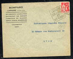 MAURY N° 283: S/LSI  - 1931  - OM DAGUIN- (DEPT Des HAUTES ALPES): LARAGNE SON AIR PUR ET SES VERGERS - Marcophilie (Lettres)