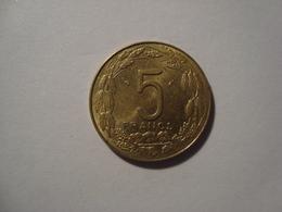 MONNAIE AFRIQUE CENTRALE 5 FRANCS 1985 - Monnaies