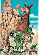 H036 - ALPINI - UMORISTICA - VIAGGIATA 1980 F.G. - Regiments