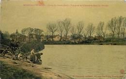 MONTCEAU LES MINES - Etang Du Plessis(sud), Vue Prise De La Route De Mont Saint Vincent. - Montceau Les Mines