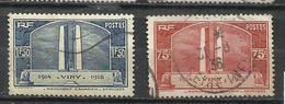 6249-SERIE COMPLETA FRANCIA 1936 Nº31/7 USADOS Foto Real. 12,50€ - Francia