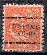 USA Precancel Vorausentwertung Preo, Locals Nebraska, Friend 701 - Vereinigte Staaten