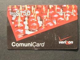 *ITALY* USATA USED - INTERNATIONAL PREPAID PHONE CARD - VERIZON - Italia
