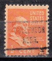 USA Precancel Vorausentwertung Preo, Locals Nebraska, Fullerton 721 - Vereinigte Staaten