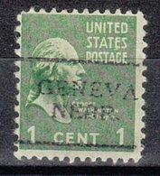 USA Precancel Vorausentwertung Preo, Locals Nebraska, Geneva 701 - Vereinigte Staaten