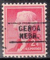 USA Precancel Vorausentwertung Preo, Locals Nebraska, Genoa 729 - Vereinigte Staaten