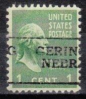 USA Precancel Vorausentwertung Preo, Locals Nebraska, Gering 701 - Vereinigte Staaten