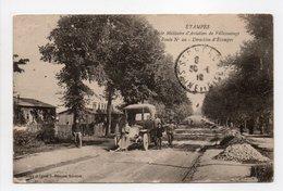 - CPA ÉTAMPES (91) - Ecole Militaire D'Aviation De Villesauvage 1918 - Route N° 20 - Direction D'Étampes - - Etampes