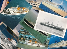 Ca. 1.500 Alte Cp Schiffe, Groß Und Klein, Farbig Und Schwarz Weiß, Konvolut - Ansichtskarten