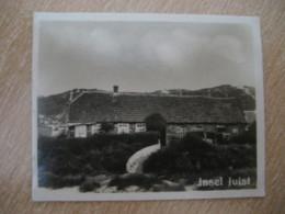 INSEL JUIST Nordseebad Insulanerhaus Bilder Card Photo Photography (4x5,2cm) Deutsche Kuste Coast GERMANY 30s Tobacco - Deutschland