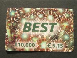 *ITALY* USATA USED - INTERNATIONAL PREPAID PHONE CARD - BEST - Italia