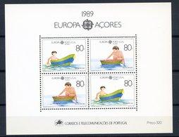 (CL 45 B) Portugal-Açores ** Bloc N° 10 - Europa - Année 1989 - Europa-CEPT