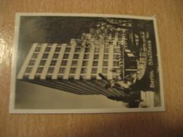 BERLIN Shell Haus Bilder Card Photo Photography (4,3x6,3cm) Modern Buildings GERMANY 30s Tobacco - Ohne Zuordnung