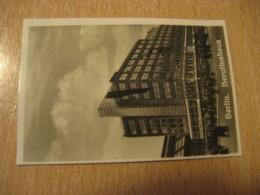 BERLIN Berolinahaus Bilder Card Photo Photography (4,3x6,3cm) Modern Buildings GERMANY 30s Tobacco - Ohne Zuordnung