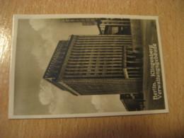 BERLIN Klingenberg Verwaltungsgebaude Bilder Card Photo Photography (4,3x6,3cm) Modern Buildings GERMANY 30s Tobacco - Ohne Zuordnung