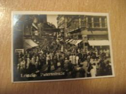 LEIPZIG Petersstrasse Bilder Card Photo Photography (4,3x6,3cm) Tourist Centers GERMANY 30s Tobacco - Ohne Zuordnung