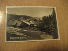 SCHIERKE Harz Bilder Card Photo Photography (4,3x6,3cm) GERMANY 30s Tobacco - Ohne Zuordnung