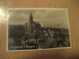 ANNABERG I. Erzberg. St. Annenkirche Bilder Card Photo Photography (4,3x6,3cm) Erzgebirge Mountains GERMANY 30s Tobacco - Deutschland