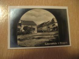 LAUENSTEIN I. Erzgeb. Bilder Card Photo Photography (4,3x6,3cm) Erzgebirge Mountains GERMANY 30s Tobacco - Deutschland
